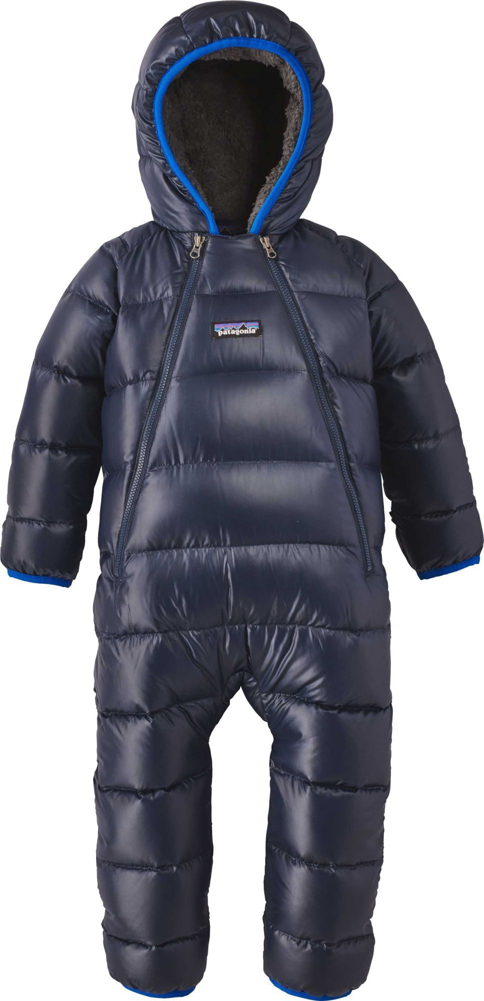c795b2490 Patagonia Infant Boys' Hi-Loft Down Sweater Bunting, Size: NB-7LBS, Blue