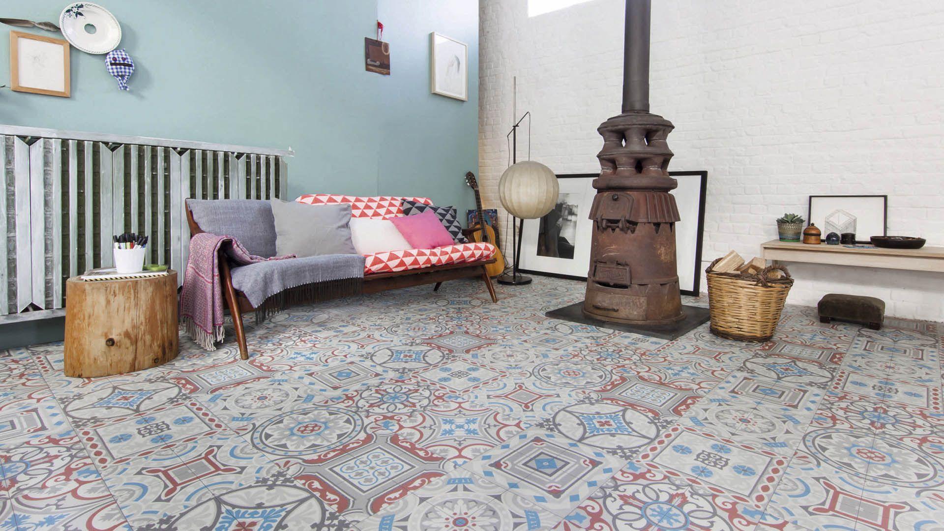 vinyle en rouleau loft shalimar saint maclou id es. Black Bedroom Furniture Sets. Home Design Ideas