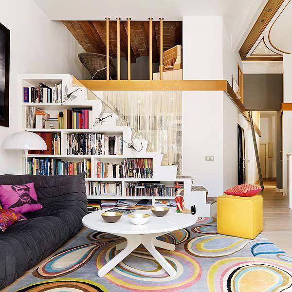Petit Salon Découvrez Toutes Nos Idées Pour Une Déco Au: Découvrez Comment Aménager L'espace Sous Votre Escalier