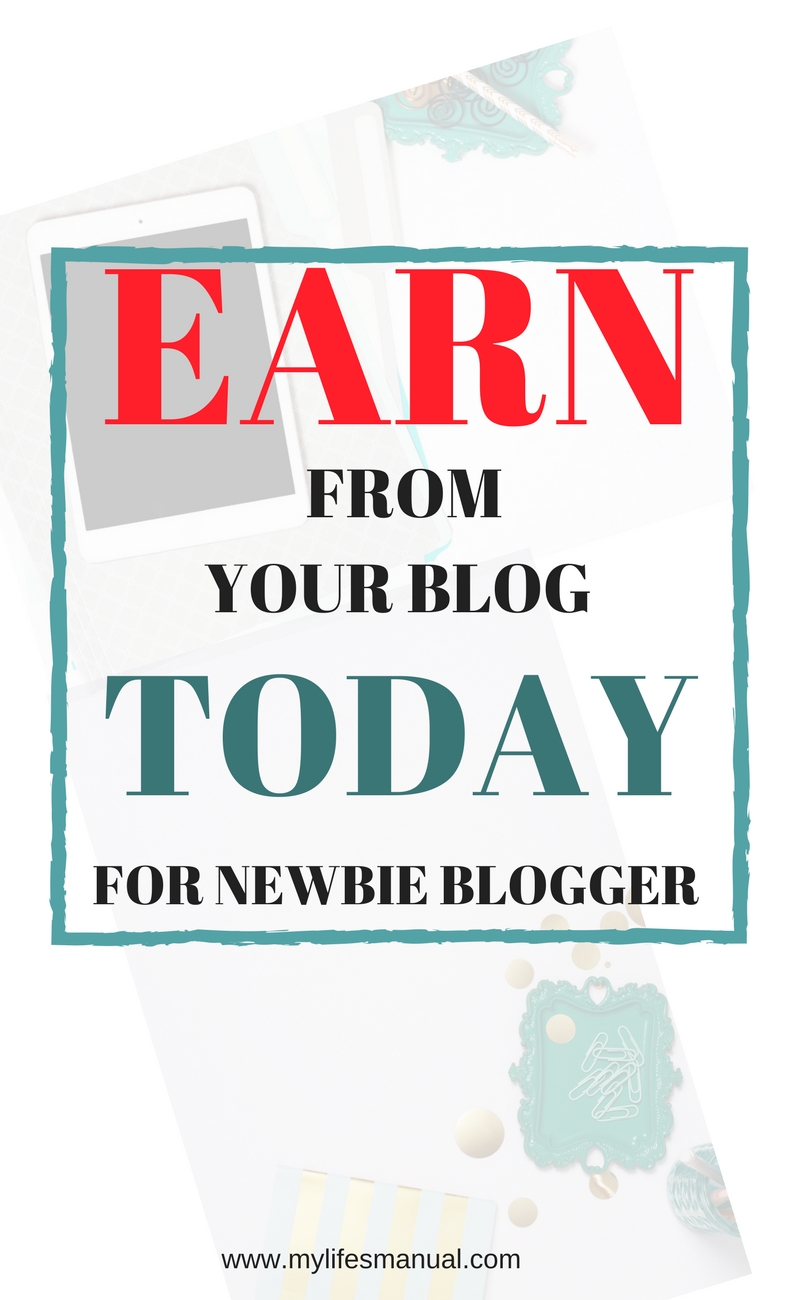 How newbie can earn money from a small blog. Learn how I was able to ...
