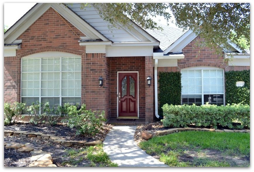 Red brick exterior paint colors making messes a little - Front door colors for red brick house ...