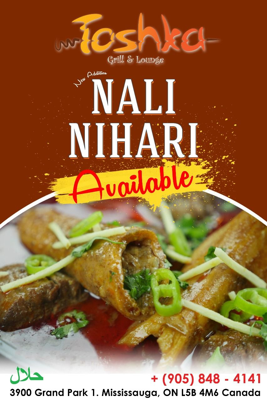 Looking For Something Really Tasty Spicy Toshka Grill Lounge Presents Its Best In Town Nali Nihari For All Food Lover Gosht Recipe Halal Recipes Desi Food
