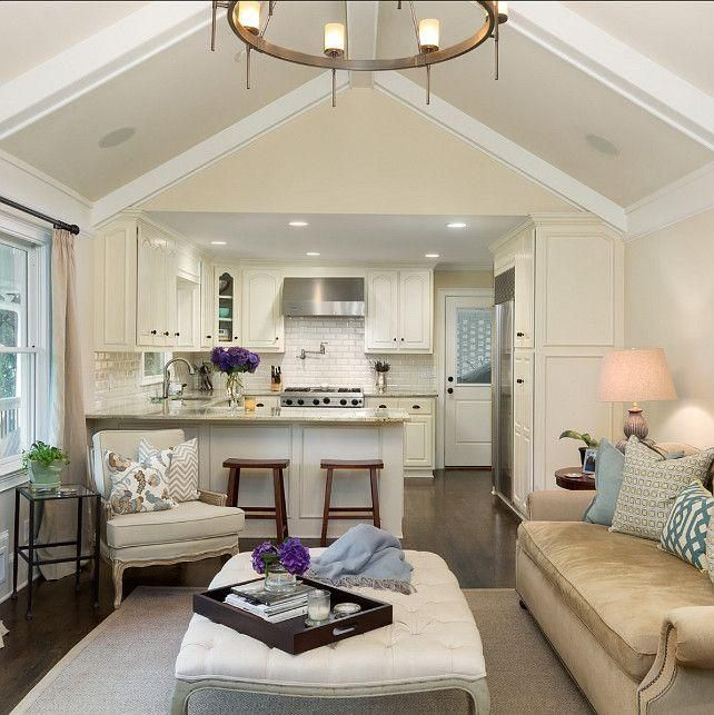 Decoración de comedor y sala juntos en espacios pequeños Living