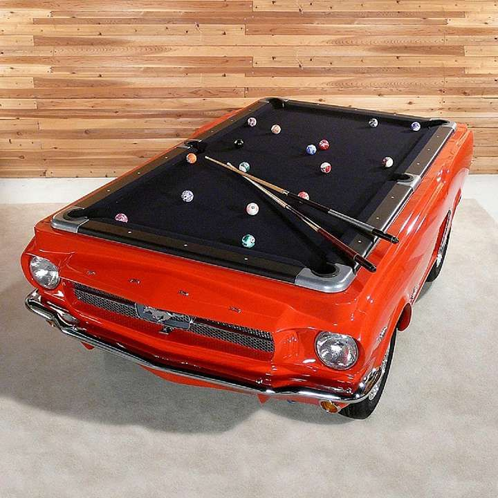 1965 Mustang Car Pool Table on Frontgate.com
