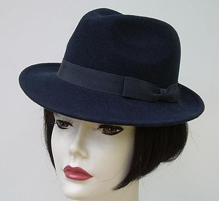 Petite Navy Fedora Hats For The Small Head Winter Hats Hats Hats Fashion