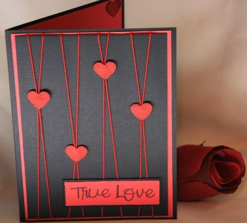 15 Best Handmade Valentine Card Ideas 1 Simple Cards Pinterest