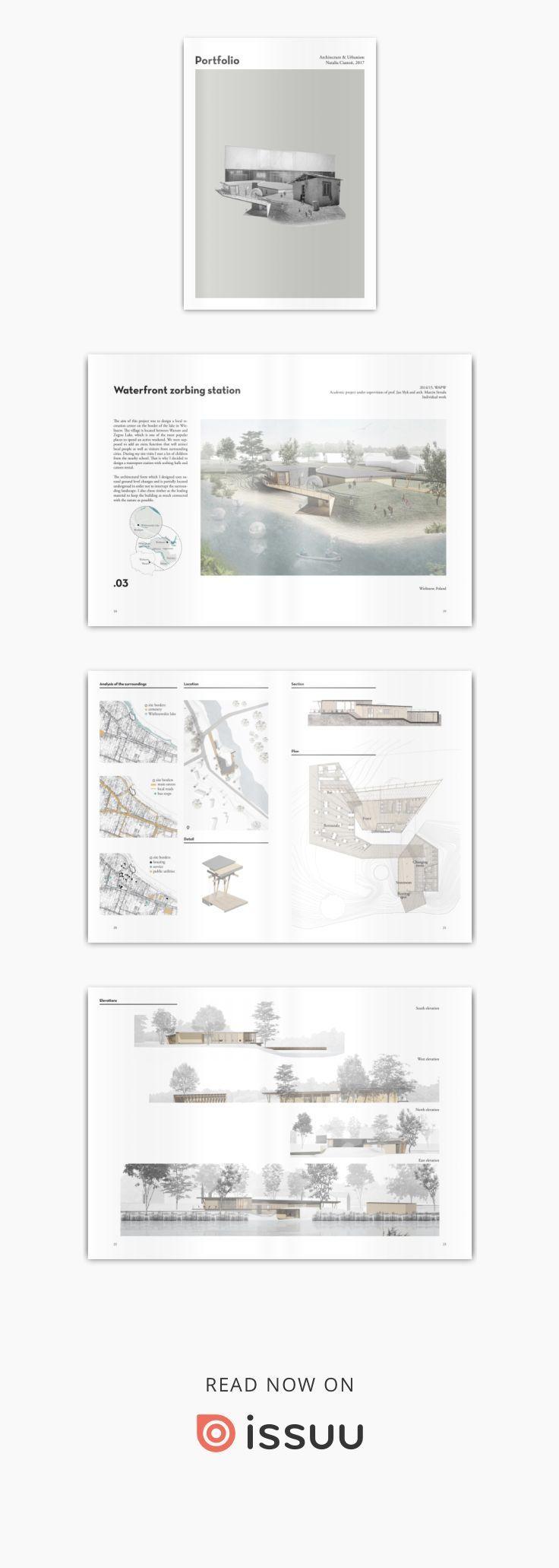 Architecture & Urbanism Portfolio 2017 - #Architecture #portfolio #Urbanism #architektonischepräsentation