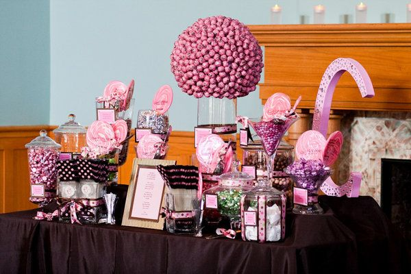 Wedding Reception Candy Buffet Tables Candy Buffet In The Spacious