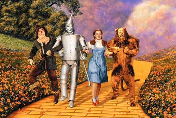 A Visual Diary of Technicolor Films Wizard of