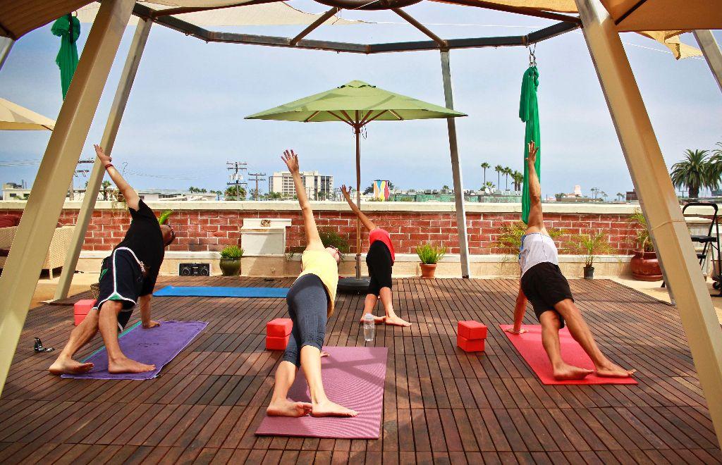 Trilogy Sanctuary Now Open Vegan Cafe Juice Bar Yoga Center Indoor Outdoor Pool Yoga La Jolla