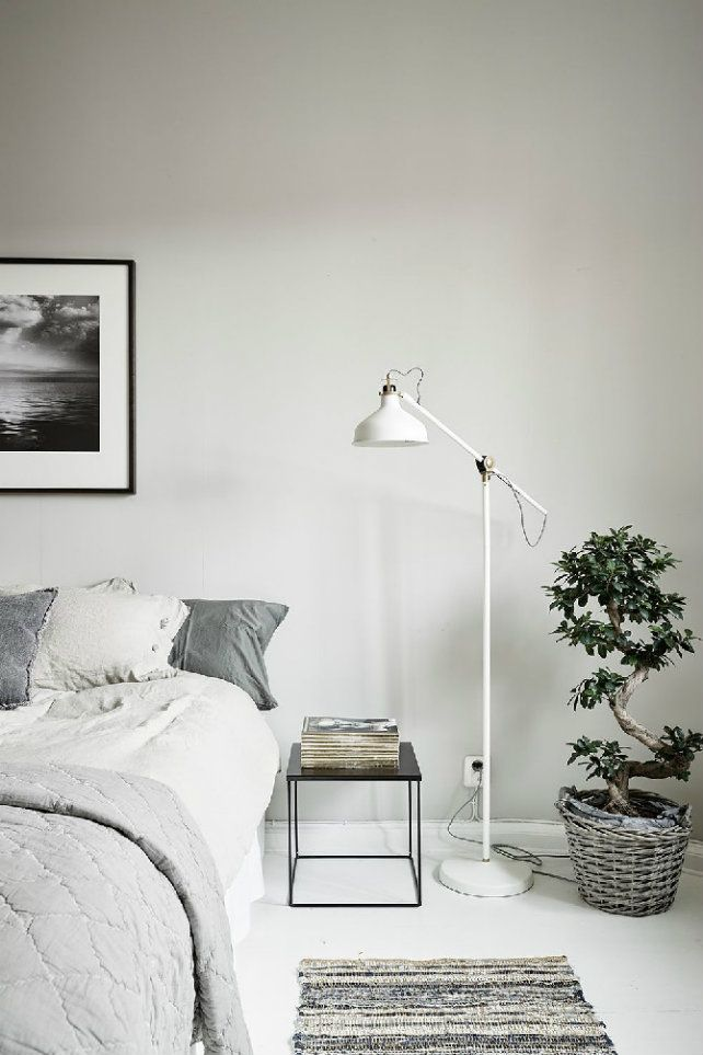 How To Use Modern Floor Lamps In Contemporary Bedroom Designs Floor Lamp Bedroom Bedroom Flooring Bedroom Interior