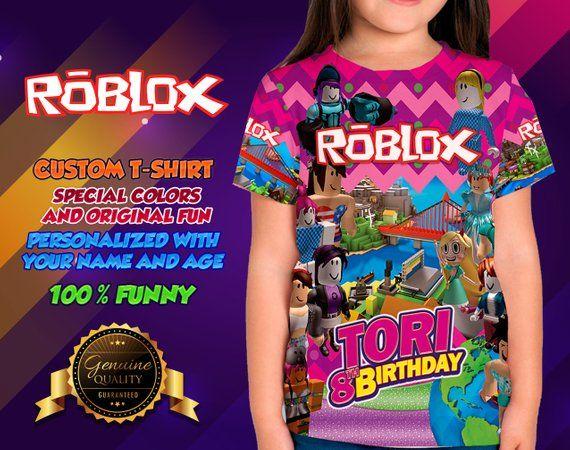 Roblox Girl Shirt Roblox T-Shirt Roblox Adult T-Shirt Roblox Merch