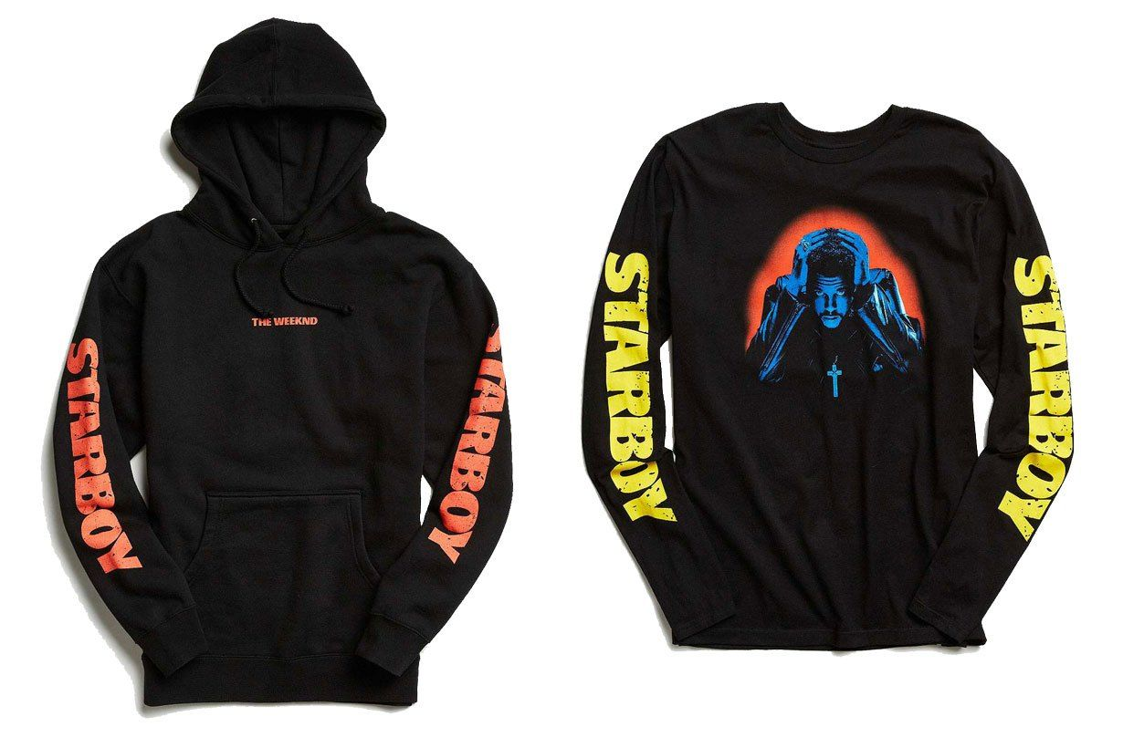 61ac22c99b Urban Outfitters' The Weeknd 'Starboy' Collection Is Now Available ...
