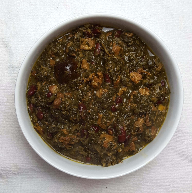 Gormeh Sabzi (Herb Stew)