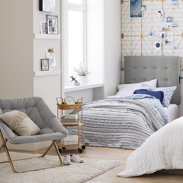 Pretty Pleats Organic Izzi Rings Bedroom Dream Dorm