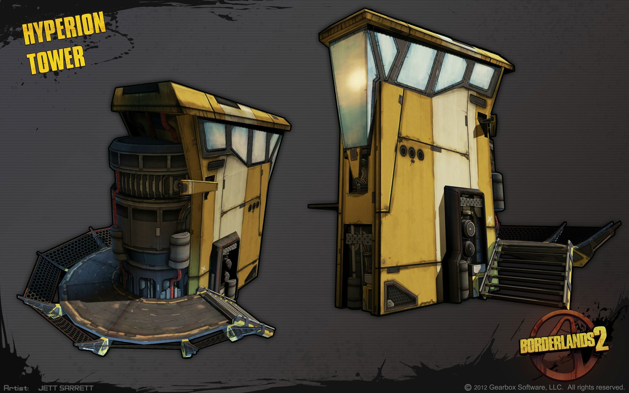 Props Borderlands 2 Borderlands art, Weapon concept