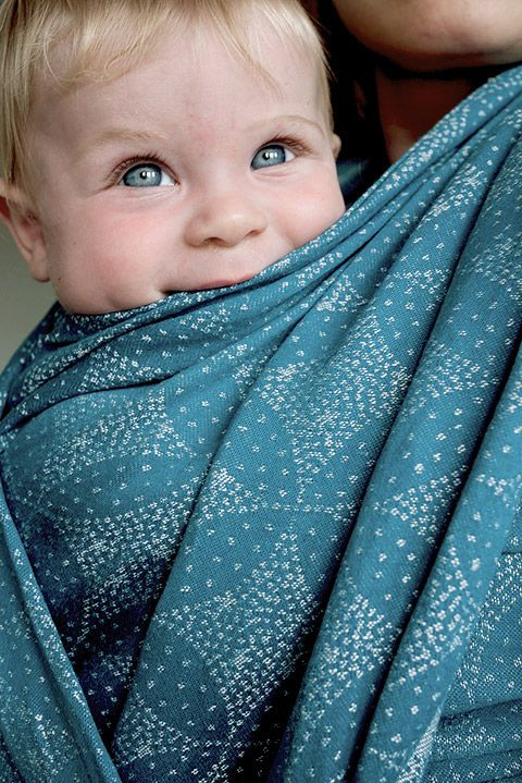 Starry Night Shona Wrap Oscha Slings Baby Wraps Baby Slings Ring