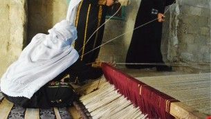 Bedouin women working together with Dutch-based designers Sayaka Yamamoto and Boaz Cohen - BCXSY