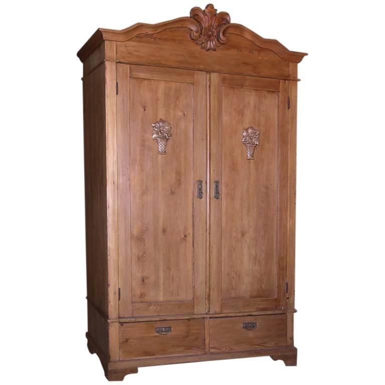 Antique Armoire With Carved Details Antique Armoire Armoire