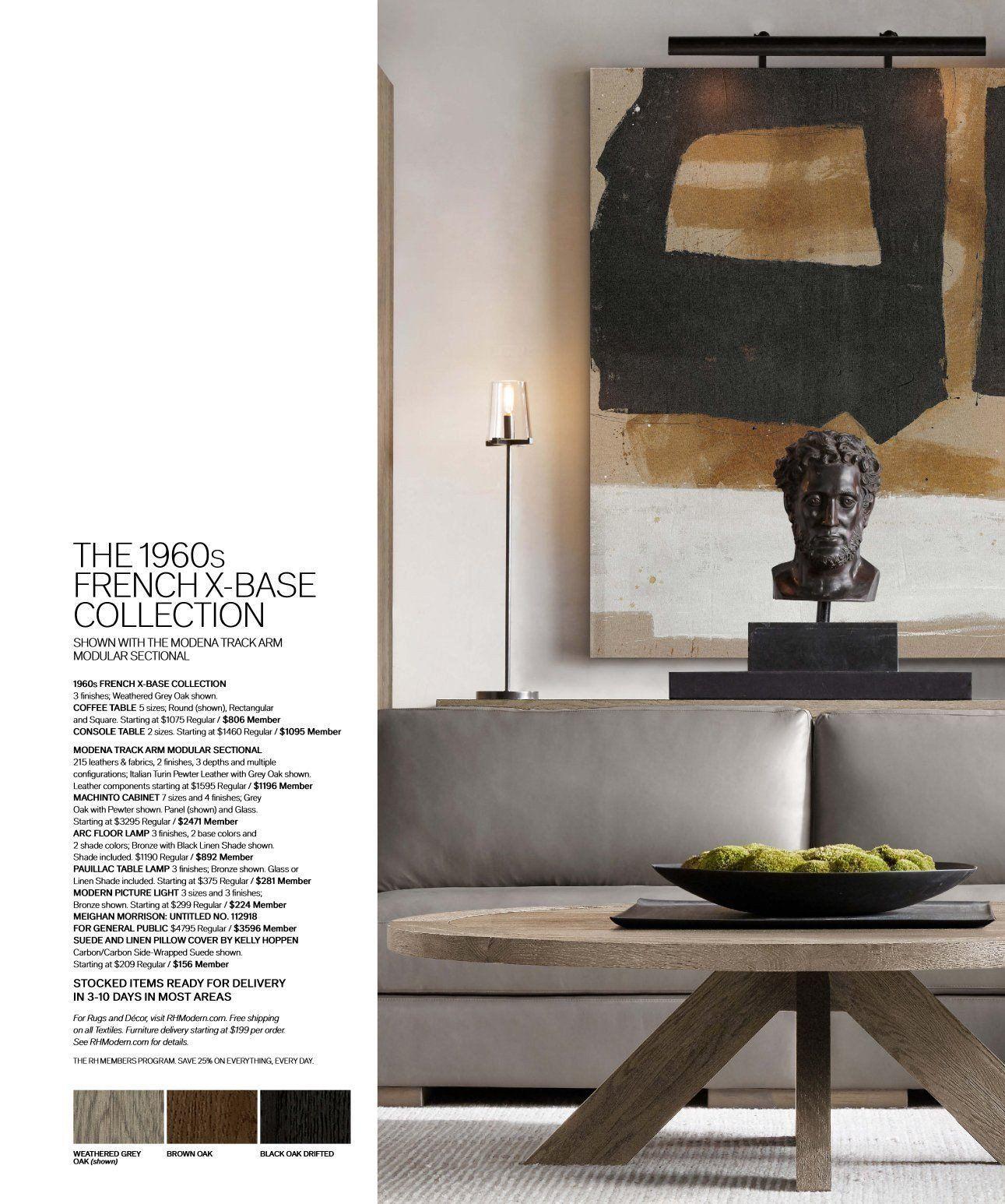 rh modern living room rh source books rh modern 89 living