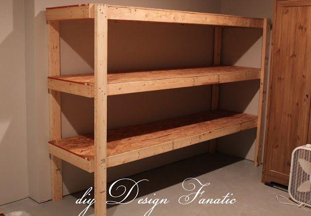 Diy Storage How To Store Your Stuff Basement Storage