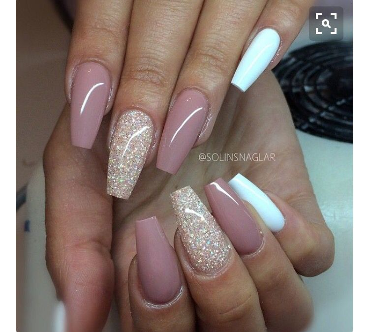 Pin by katryna on nails pinterest nail nail makeup and nail inspo we have made a photo collection of top 40 beautiful glitter nail designs that you will for sure love to try prinsesfo Choice Image