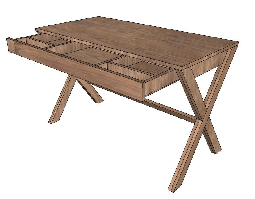 Diy furniture diy desk with drawer home sweet home pinterest diy furniture diy desk with drawer solutioingenieria Images