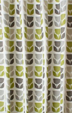 image result for green retro curtains uk - Retro Curtains