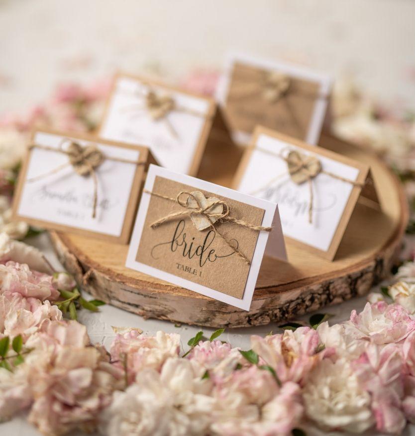 Rustic 300 Cg W Wedding Table Name Cards Wedding Name Cards Wedding Place Cards