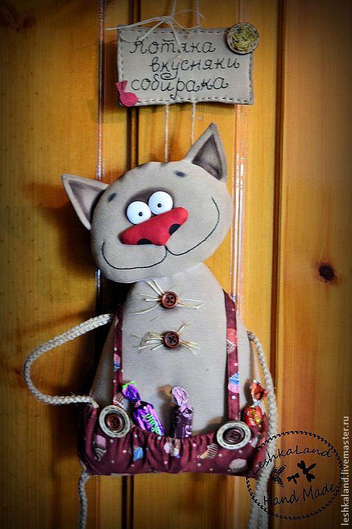 Купить Звери дверные - прикольный, прикольная игрушка, интерьерная игрушка, звери, смешной, авторская игрушка