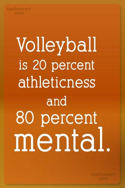 Volleyball Quotes and Sayings (225 quotes) CoolNSmart