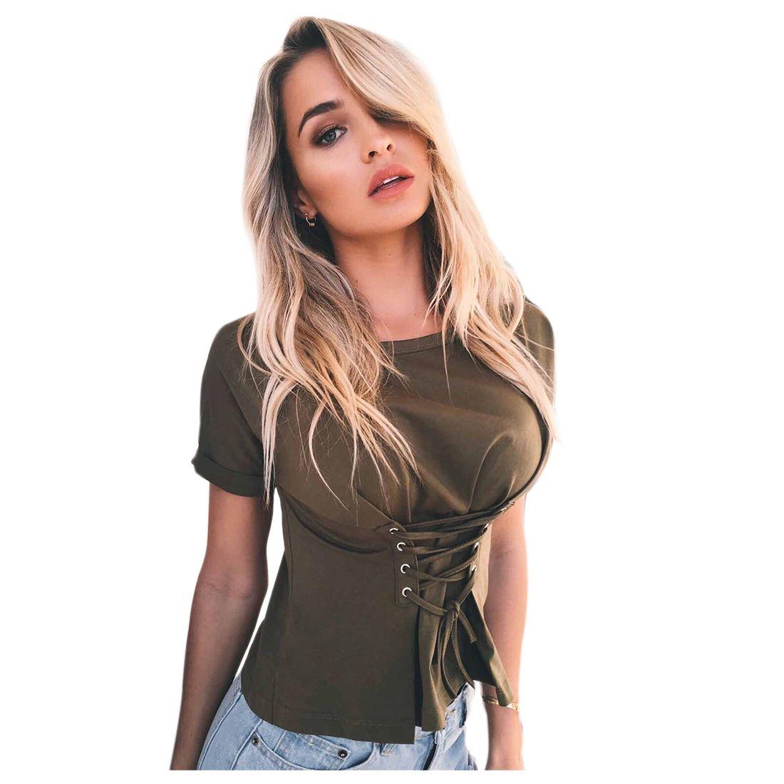 Sexy corset shirts