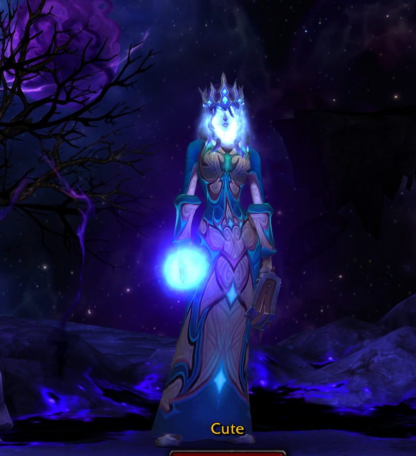 void elf shadow priest is my new fav class combo #worldofwarcraft
