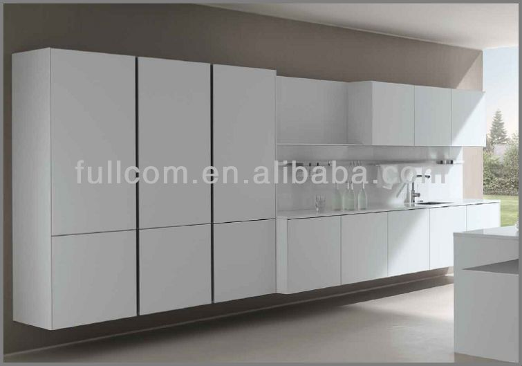 Mdf painted high gloss slab kitchen cabinet doors buy for Mdf painted cabinet doors