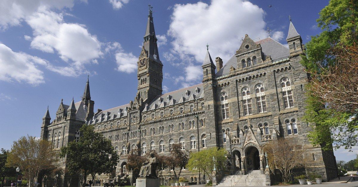 Georgetown university application essay officers