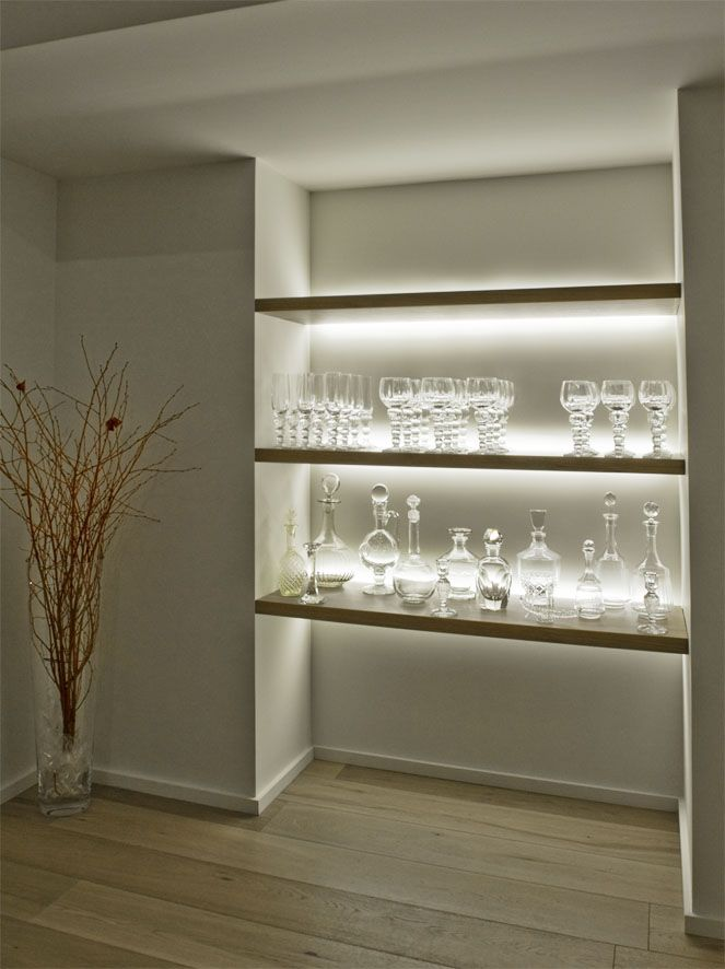 LED Flexible Strip At Cabinet