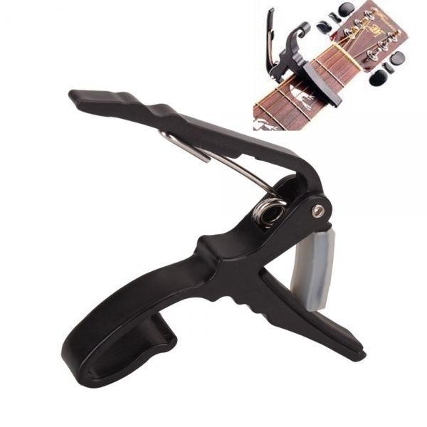 C, Capo Acoustic Electric Guitar Black Quick Change Guitar Guitar Accessories