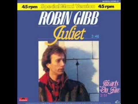 Robin Gibb Juliet Robin Juliet Bee Gees