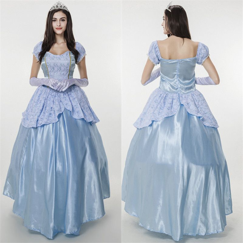 206 Noble European Palace Sissy Dress Costumes Queen Halloween Snow White Play Princess For