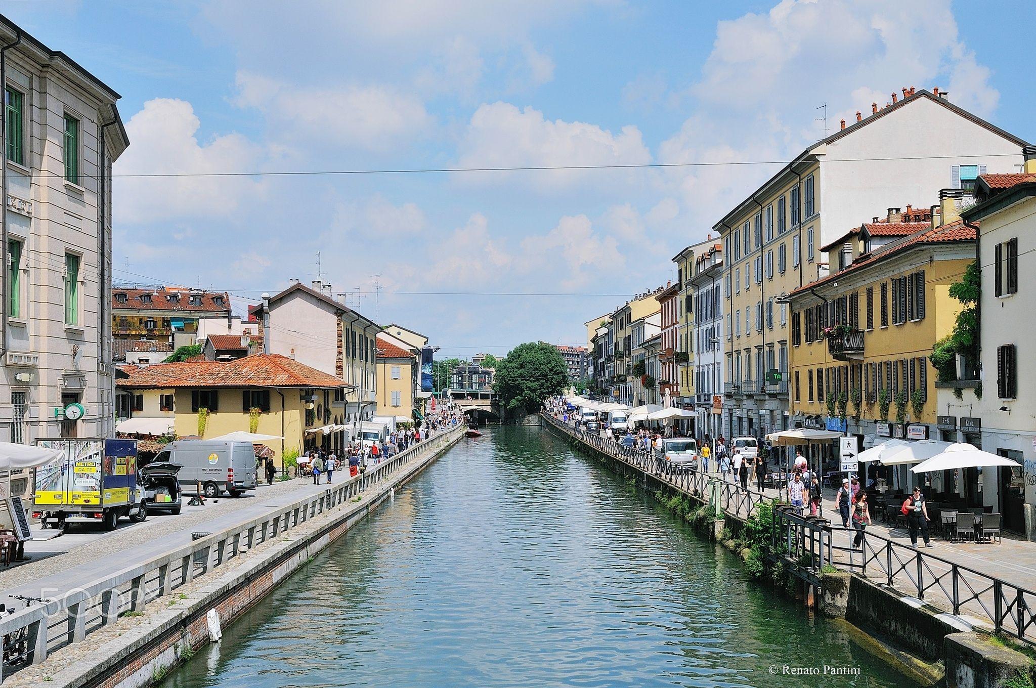 Naviglio Grande, Milano. - Taken in Alzaia Naviglio Grande, Milan, Italy. (June 2016)