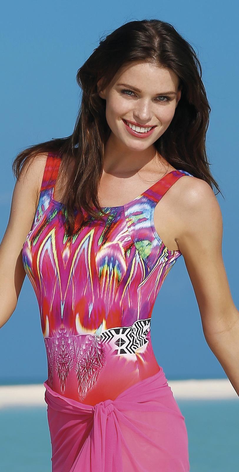 d33de0344013a Sunflair  2015 Greek Sunset  Mastectomy  Swimsuit