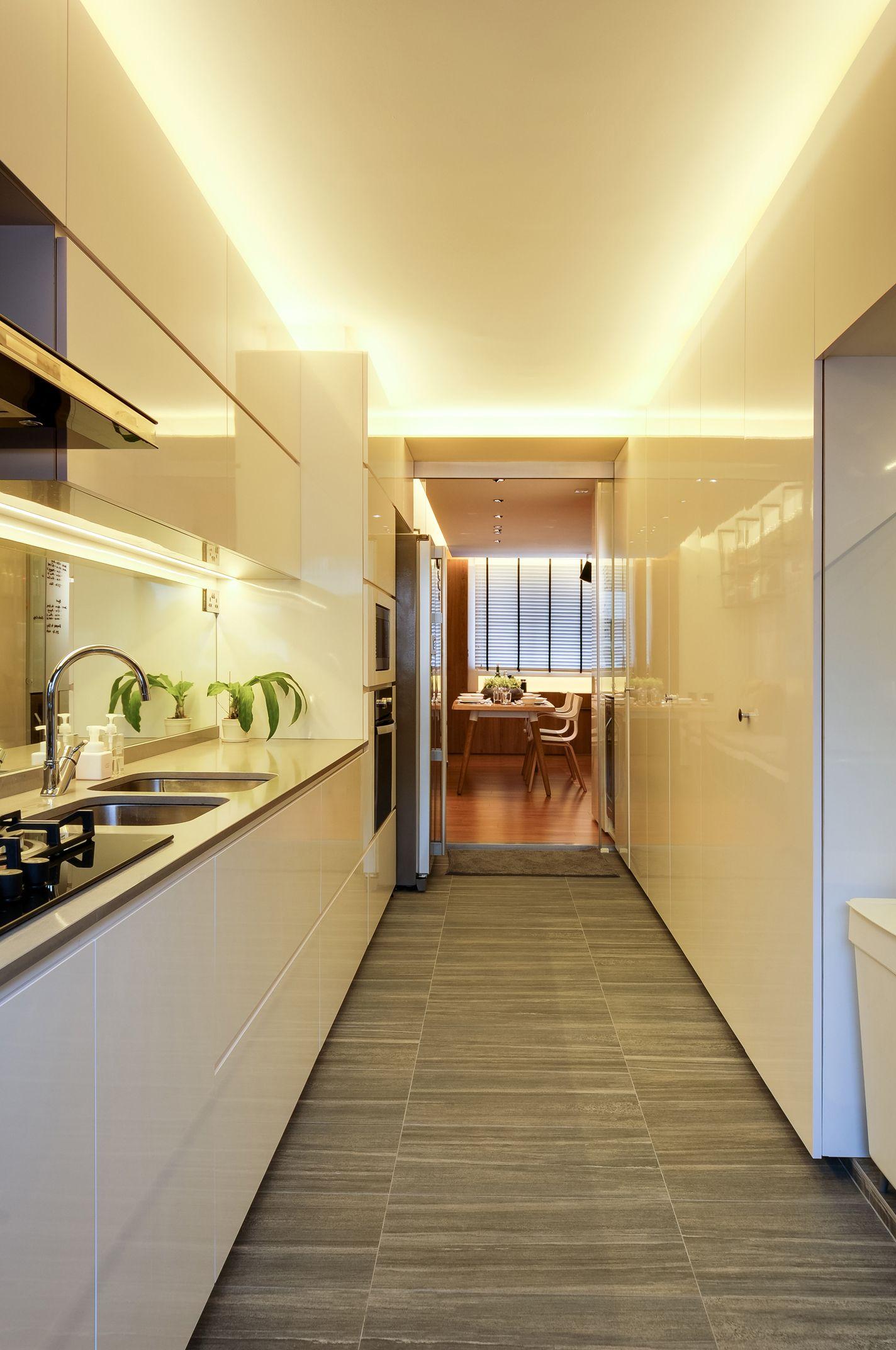 Bdg Style Idaho Project Kitchen: Interior Design Kitchen Image By Erstudio Pte Ltd On Design & Build: Resale HDB @ Serangoon