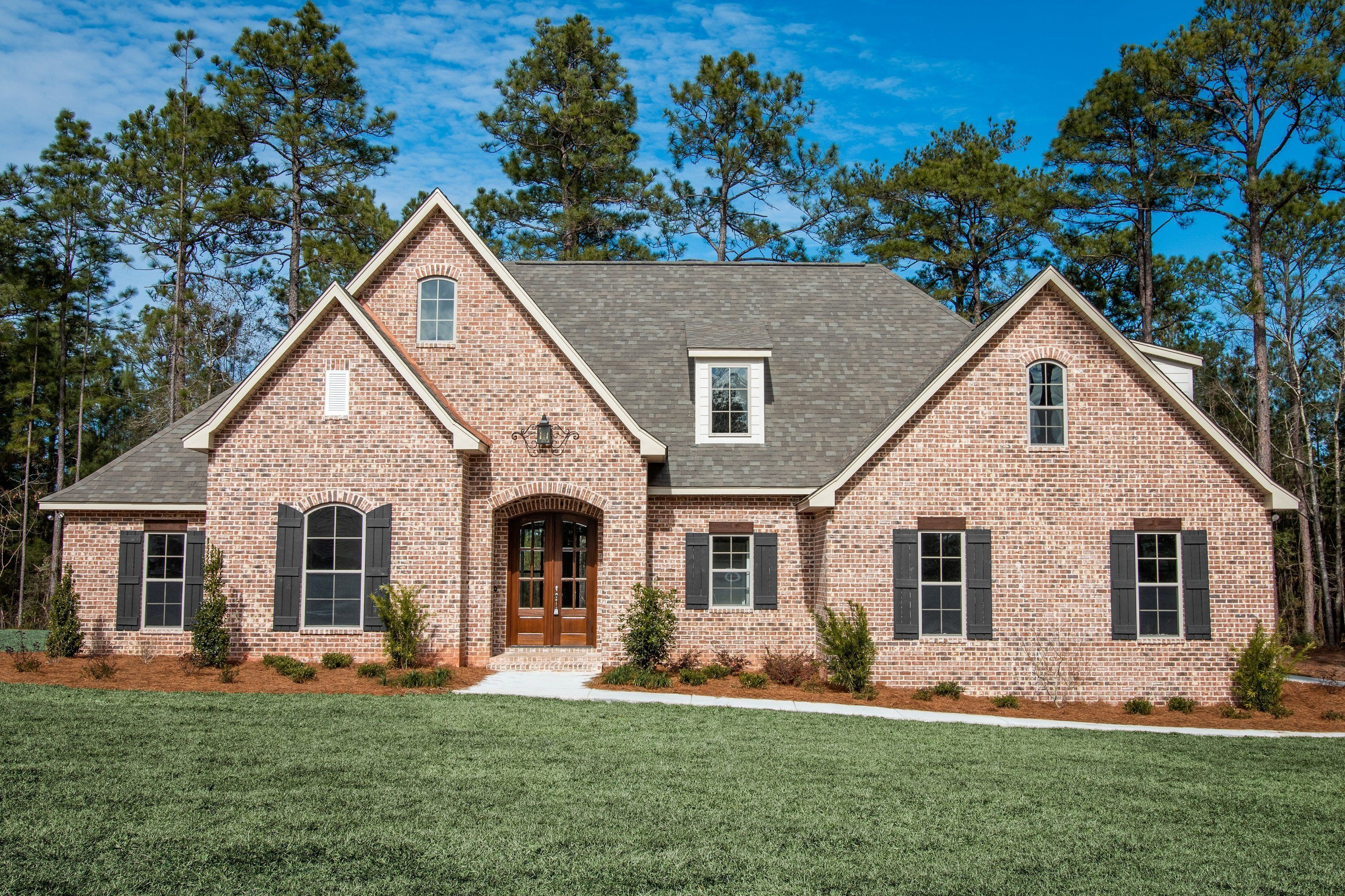 Refuge House Plan Brick House Plans Beach House Plans French Country House Plans