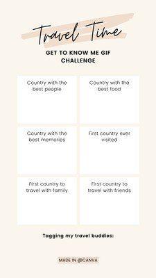 Instagram Quiz Instagram Quiz Questions Insta Quiz Instagram Story Quiz Insta Story Quiz Get To Know Me Emoji Challenge Travel Instagram