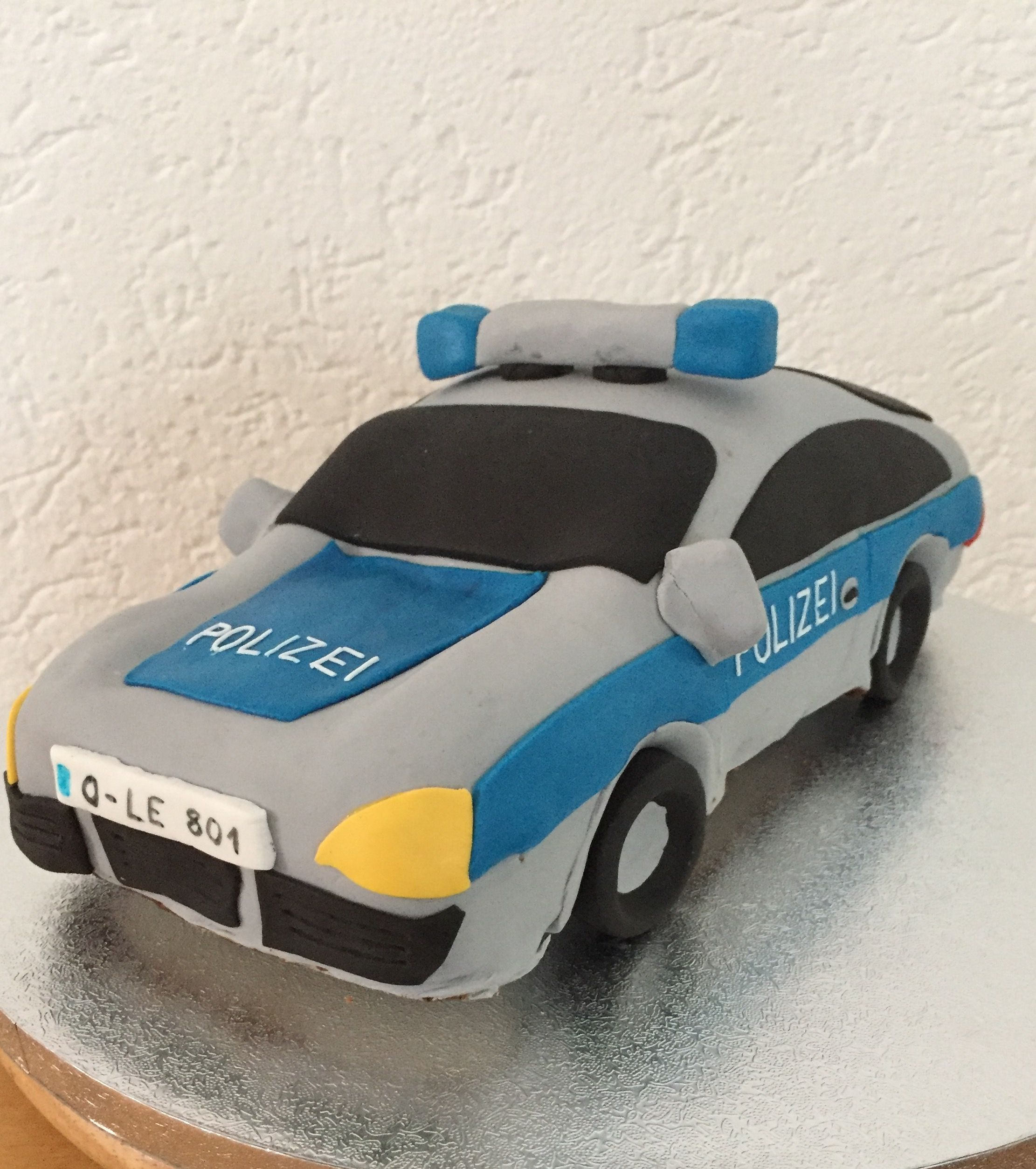 Pin By Samp Laster On Carros: Polizeiauto Kuchen