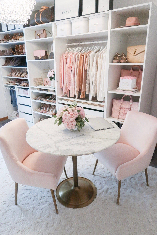 Closet + Office Tour - Lace & Lashes
