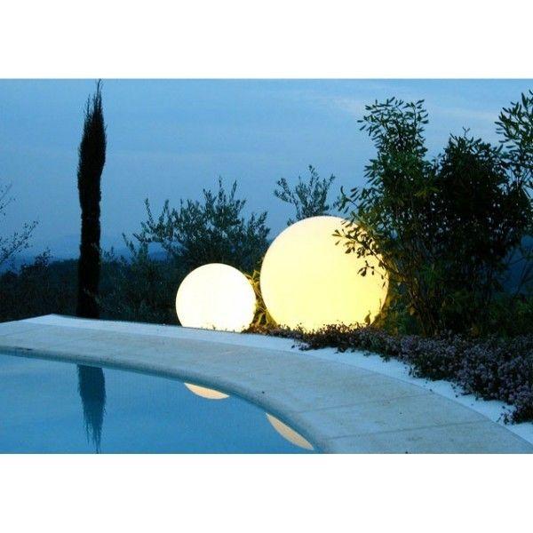 Idée Cadeau Jardin Design : Mobilier Jardin Sphère Lumineuse Globo Slide  Actuellement En Promo Sur Ma Nice Look