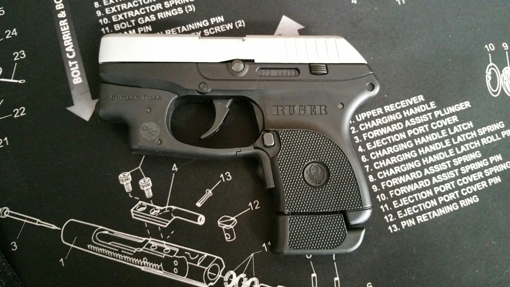b85130bf13b4 Pistols · Firearms · Shotguns · Ruger LCP w 7 round extended  magazine.Loading that magazine is a pain!