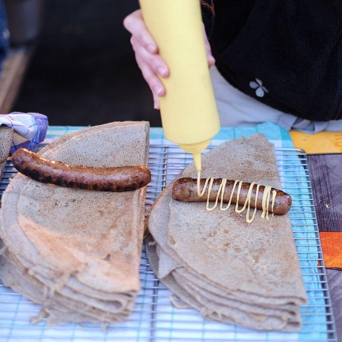 The Breton Galette-Saucisse