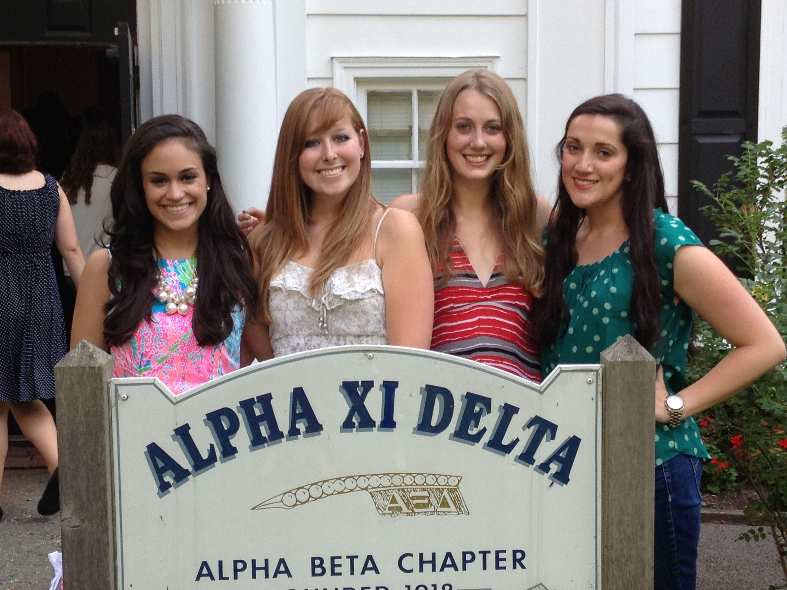 Alpha xi delta lineage love